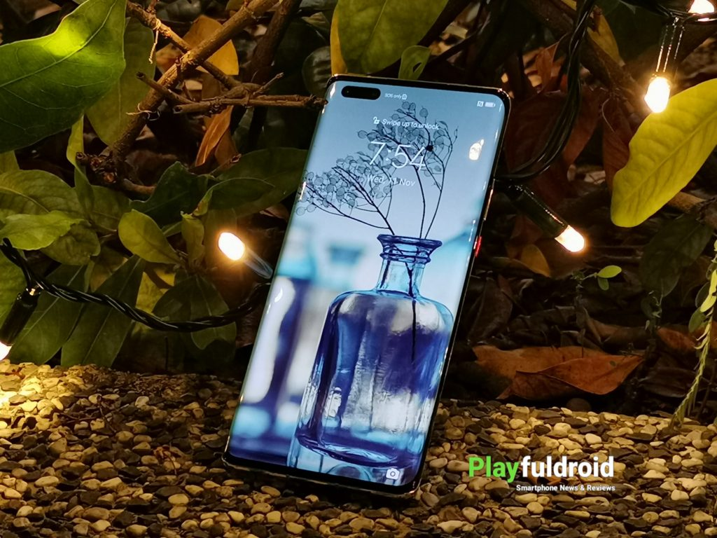 Huawei Mate 40 Pro Front Design -2