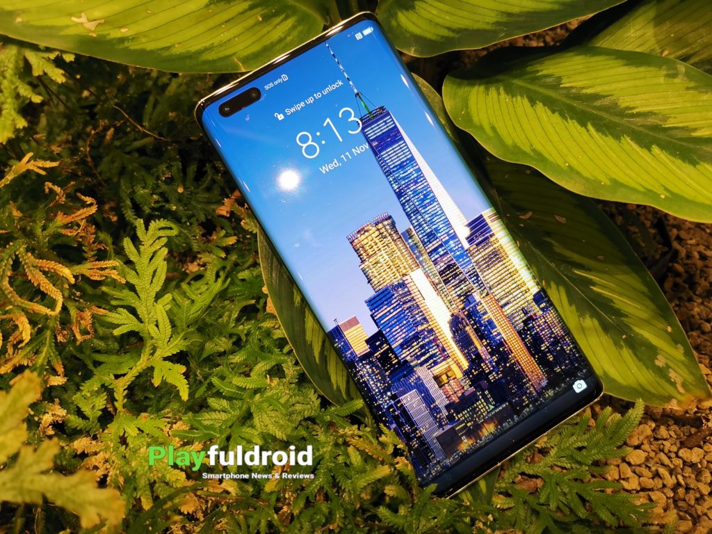 Huawei Mate 40 Pro Front Design -3