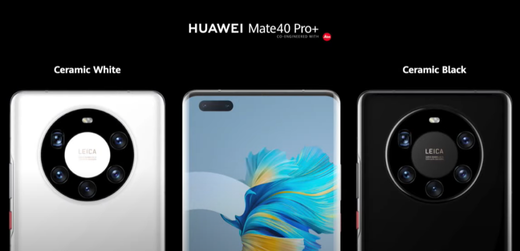 Huawei Mate 40 Pro Plus Colors