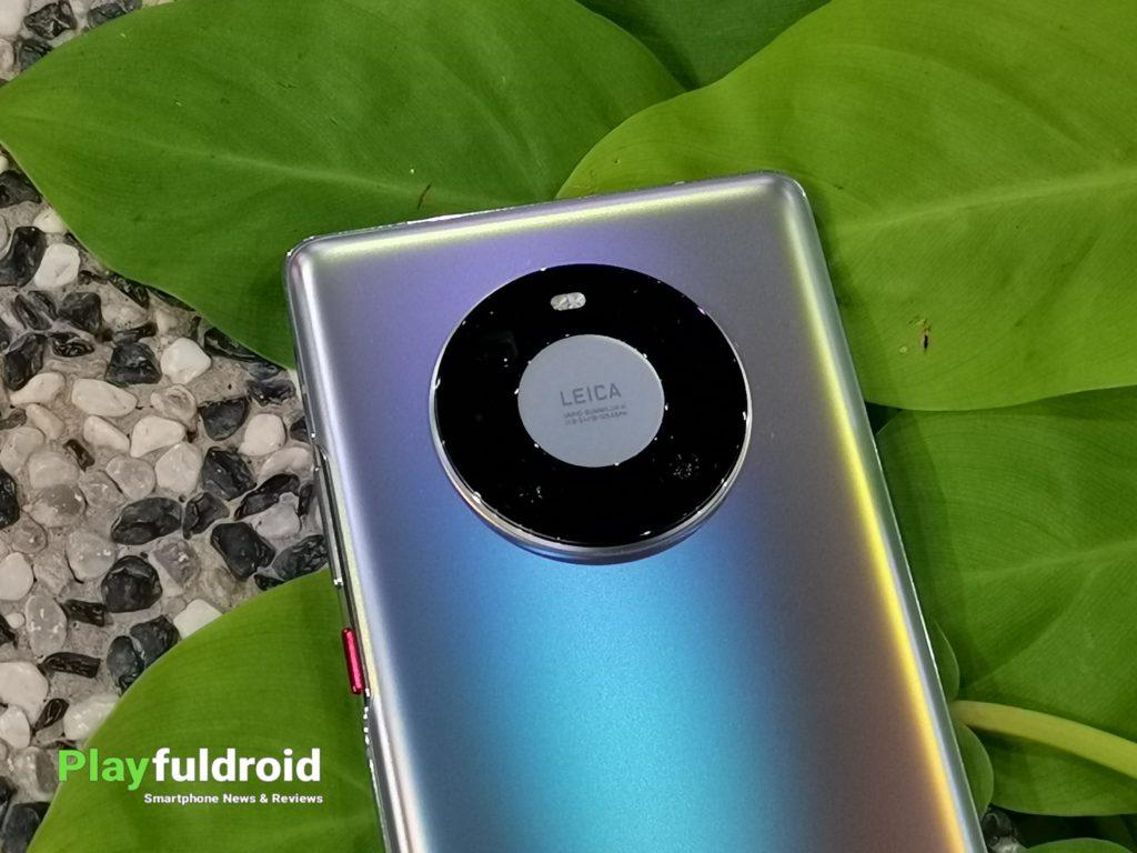 Huawei Mate 40 Pro Space Ring Camera Design