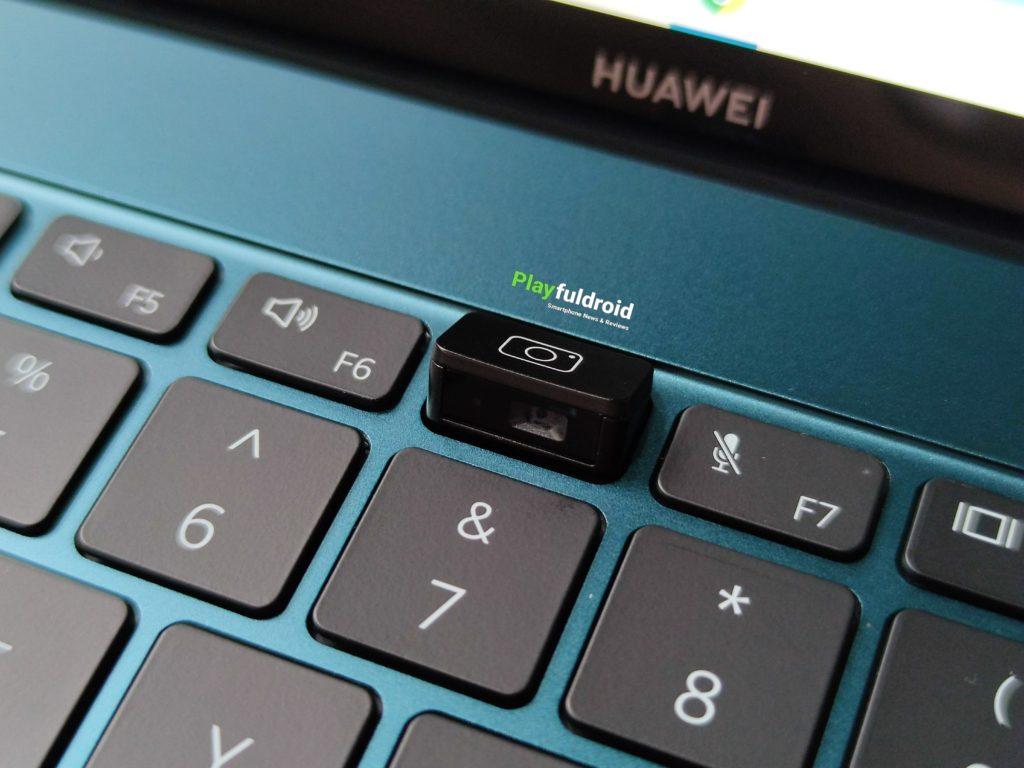 Huawei Mate X Pro 2021 Webcam Location
