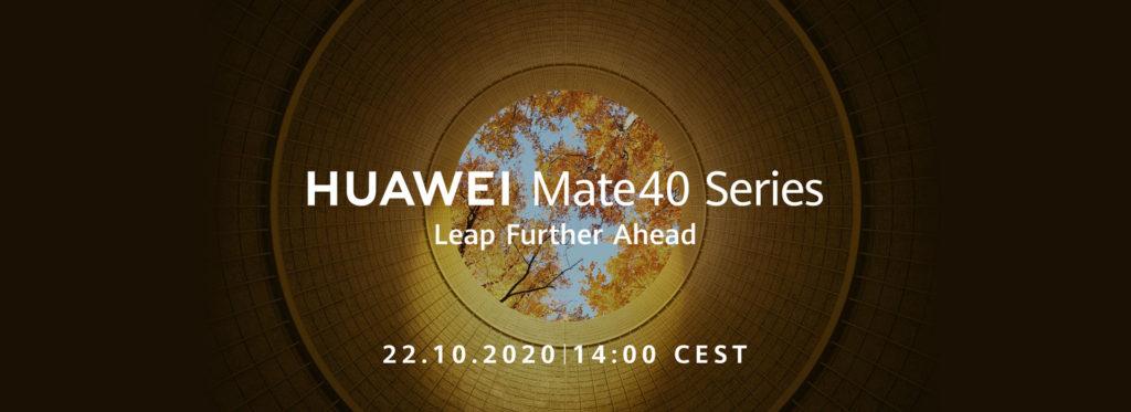 Huawei Mate40 Series Launch Date