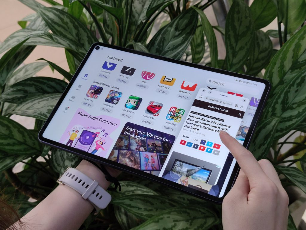 Huawei MatePad Pro 10.8 (2021) Multi-window