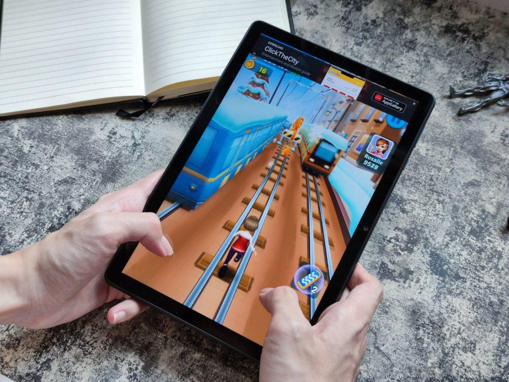 Huawei MatePad T10s Gaming Portrait