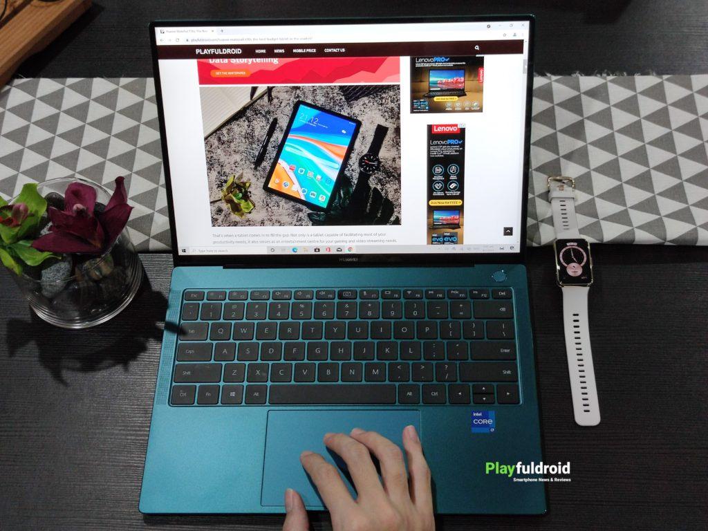 Huawei Matebook X Pro 2021 Display -1