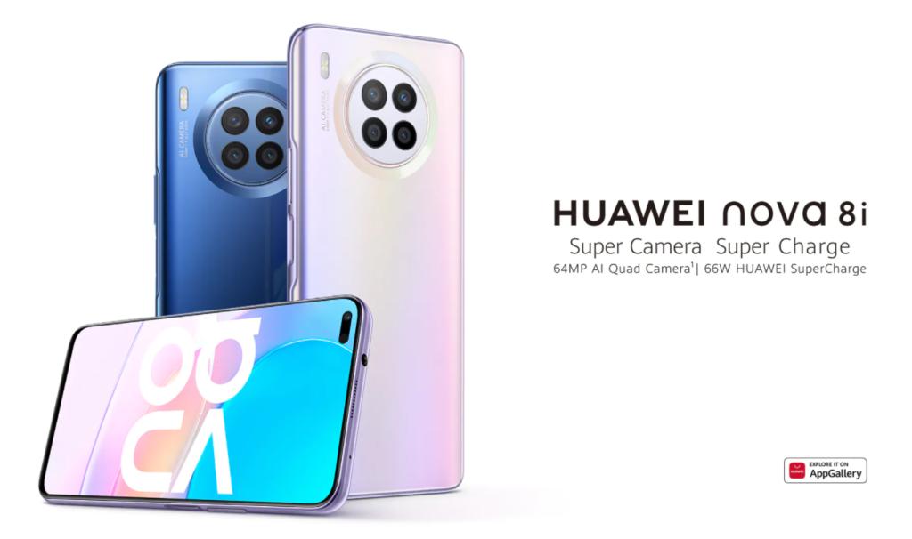 Huawei Nova 8i Promo Poster -1