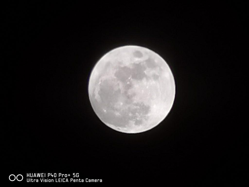 Huawei P40 Pro Plus Moon Mode