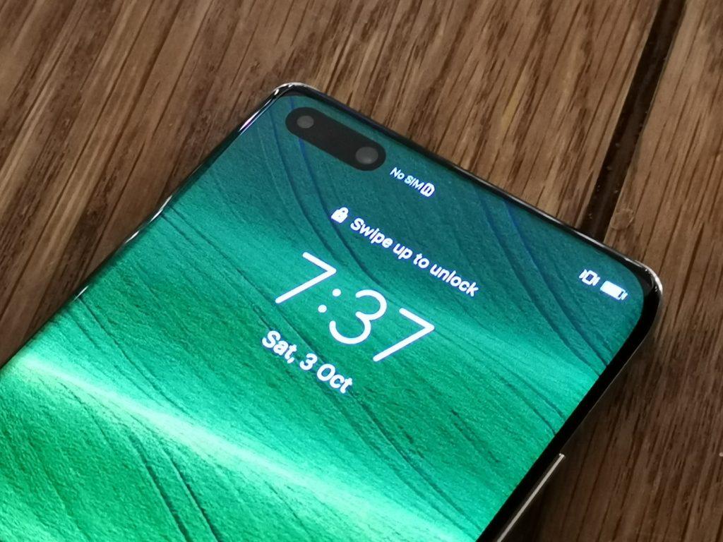 Huawei P40 Pro Plus Selfie Cameras Design