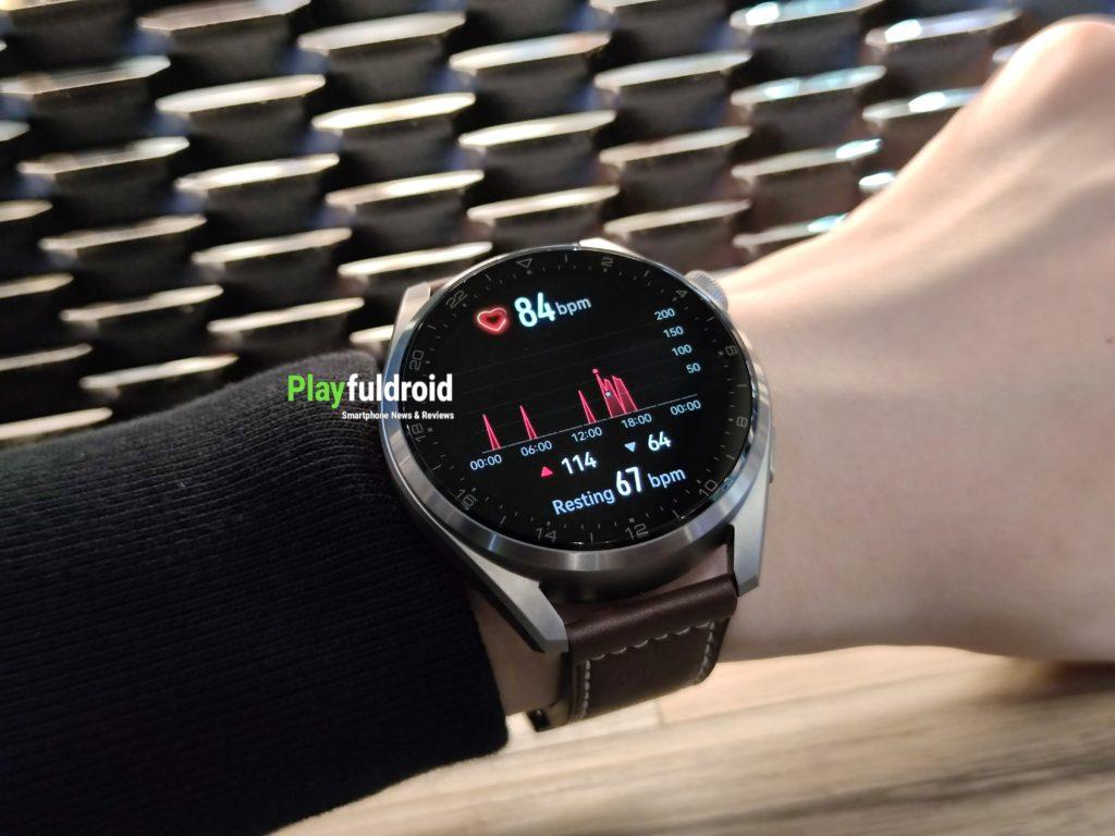 Huawei Watch 3 Pro Heart Rate Monitoring