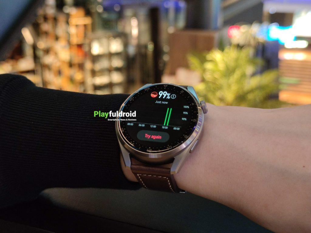 Huawei Watch 3 Pro SpO2 Measurement