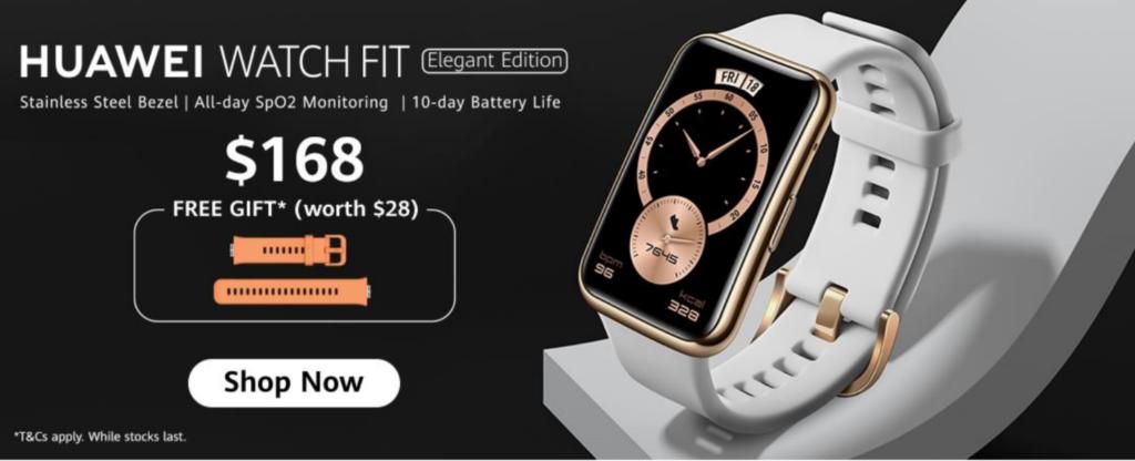 Huawei Watch Fit Elegant Edition Singapore