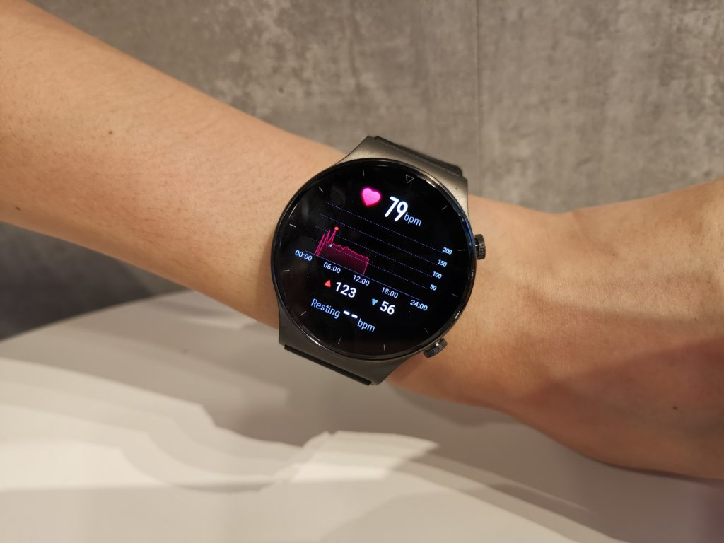 Huawei Watch GT2 Pro Heart Rate Tracking