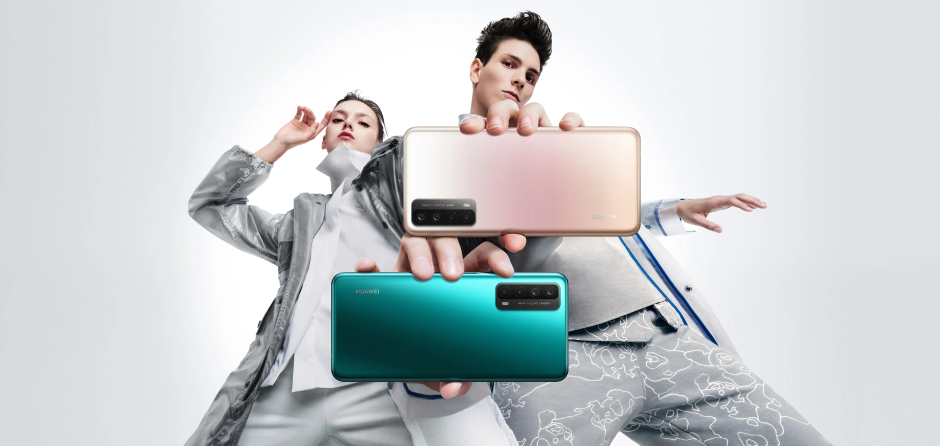 Huawei Y7a Promo Poster