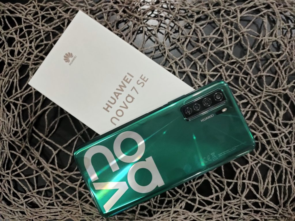 Huawei Nova 7 SE Crush Green