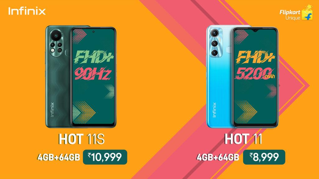 Infinix Hot 11 Series Pricing