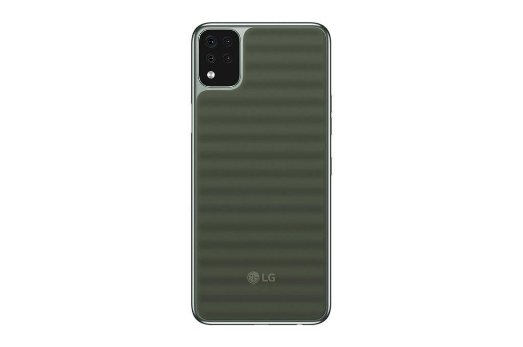 LG Q42 Rear
