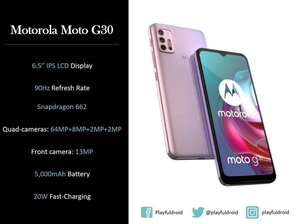 Motorola Moto G30 Specs