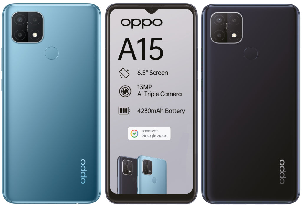 OPPO A15 Leaked Render