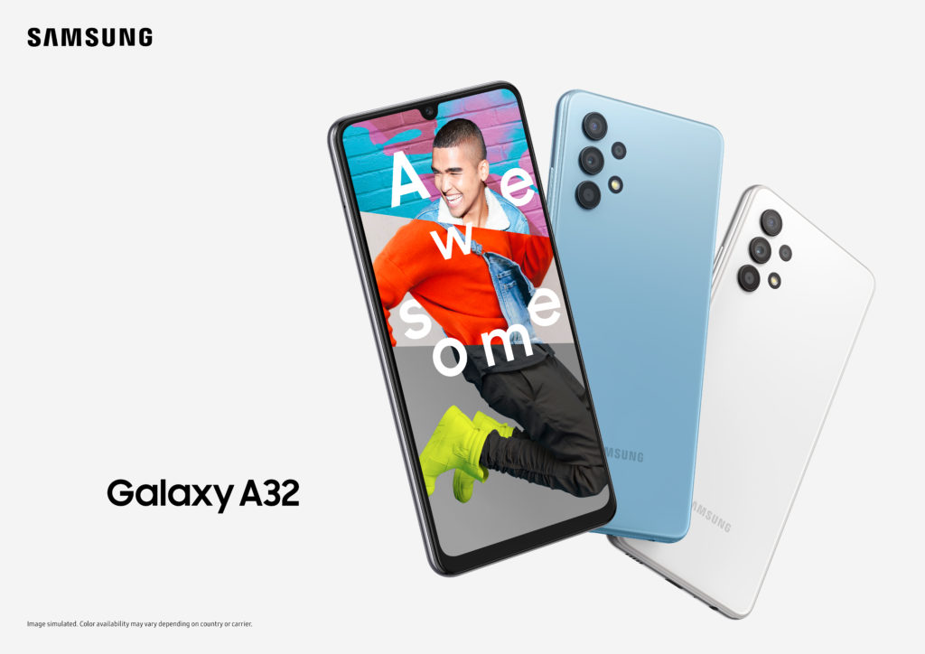 OPPO A32 4G Promo Poster