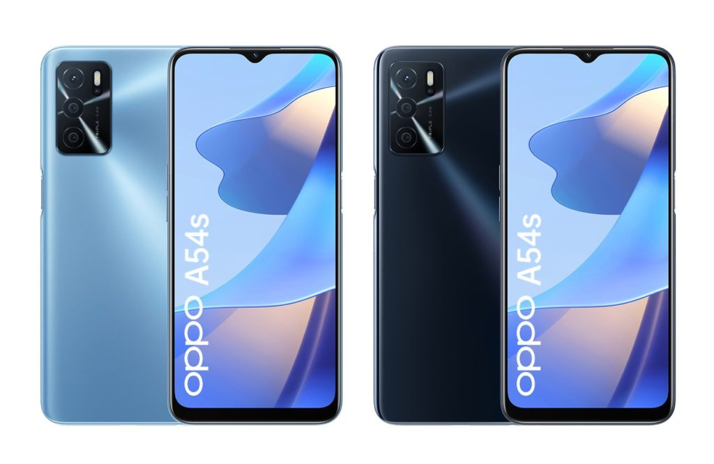 OPPO A54s Color Options