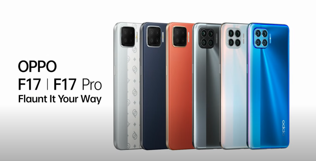 OPPO F17 Pro Color Options