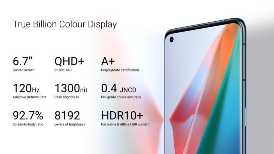 OPPO True Billion Colour Display