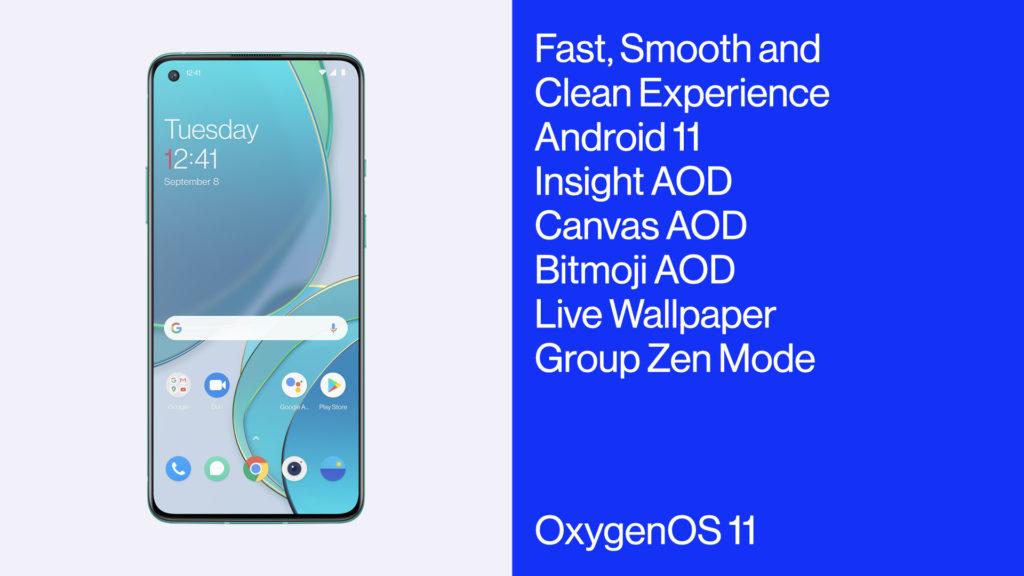 OnePlus 8T OxygenOS11