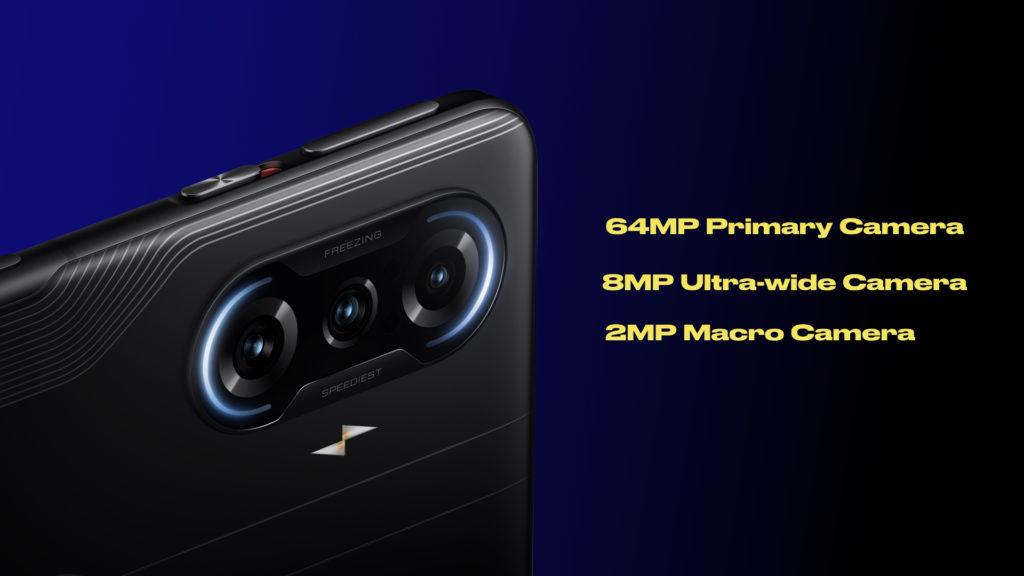 POCO F3 GT Camera Specs