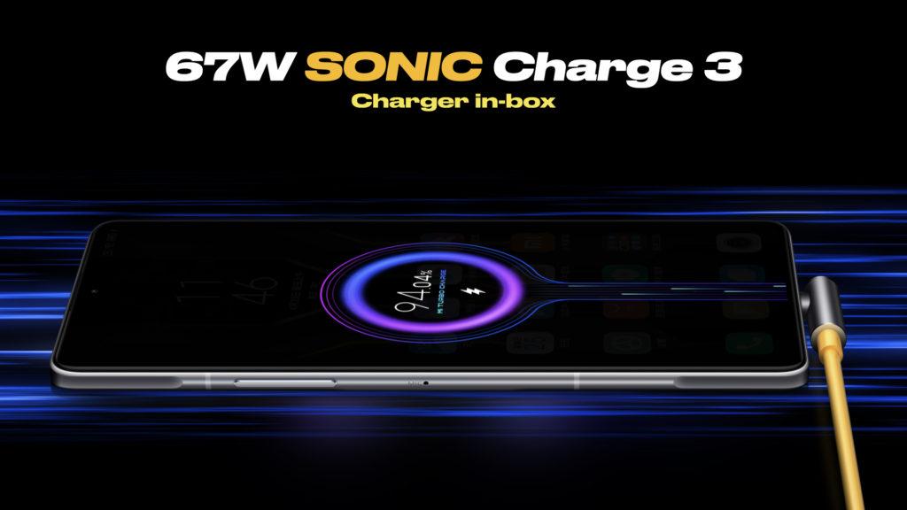 POCO F3 GT Fast-charging