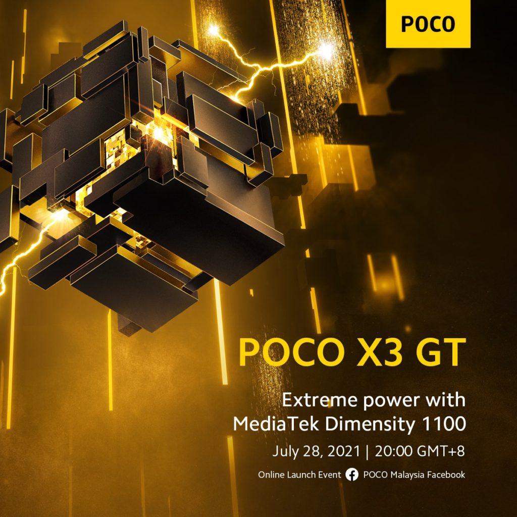 POCO X3 GT Dimensity 1100 Confirmed