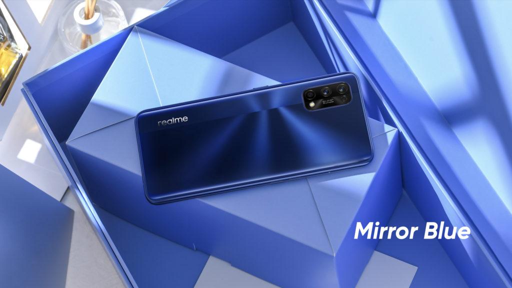 Realme 7 Pro Mirror Blue