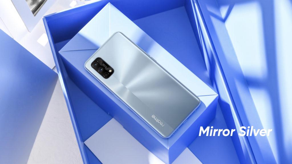 Realme 7 Pro Mirror Silver