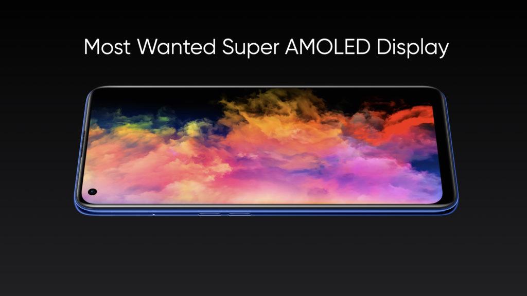 Realme 7 Pro Super AMOLED display
