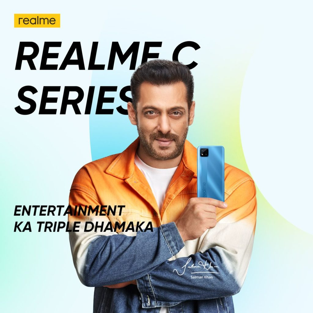 Realme C-series poster by Mukul Sharma