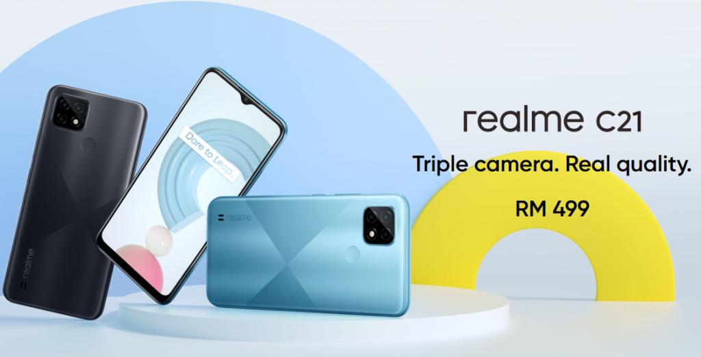 Realme C21 Render