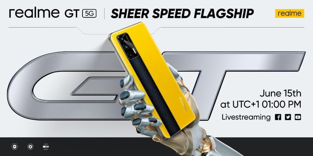 Realme GT 5G Global Launch Date