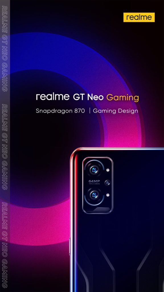 Realme GT Neo Gaming Teaser Leaked -1