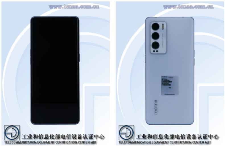 Realme RMX3366 Design