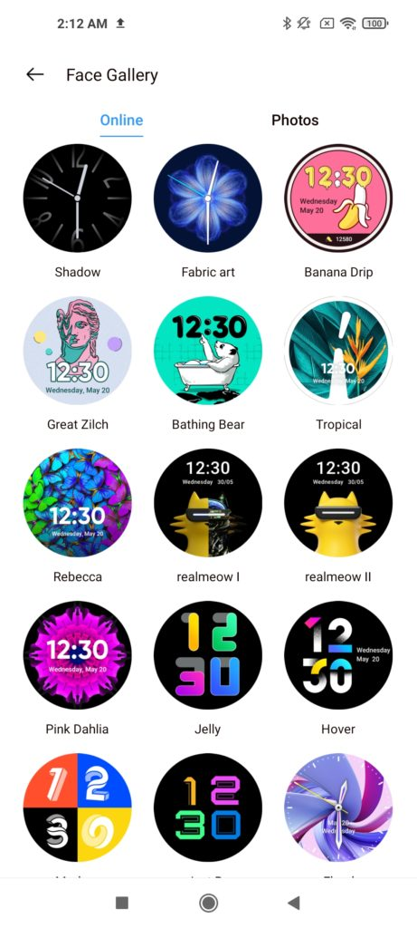 Realme Watch S Pro Watch Face -2