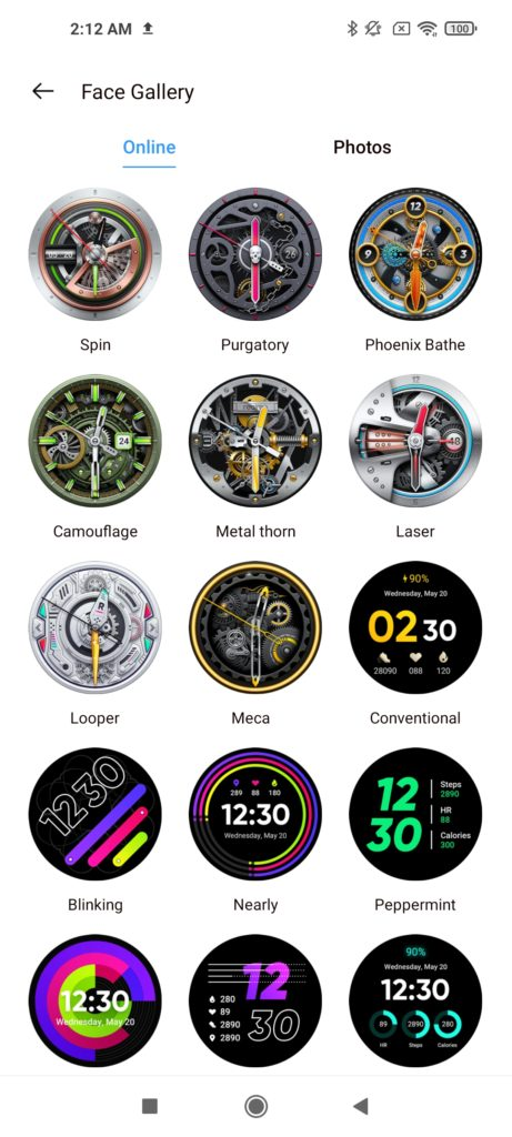 Realme Watch S Pro Watch Face -3