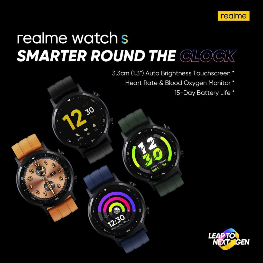 Realme Watch S Promo Poster