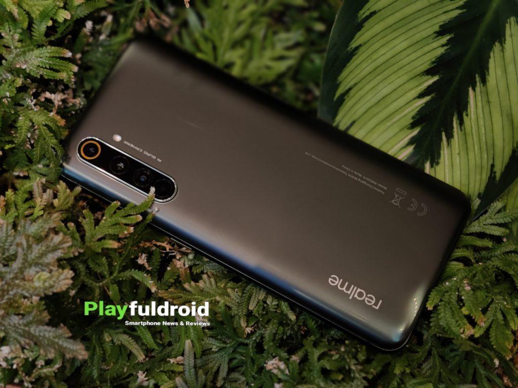 Realme X50 Pro 5G Rear Design