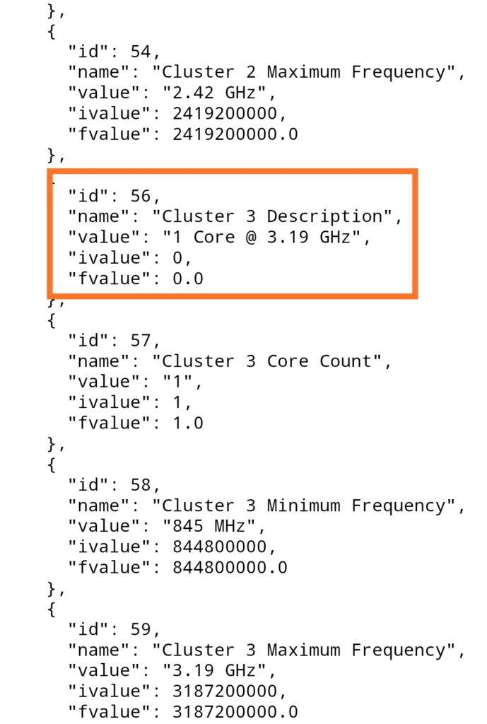 Redmi K40 Geekbench source code