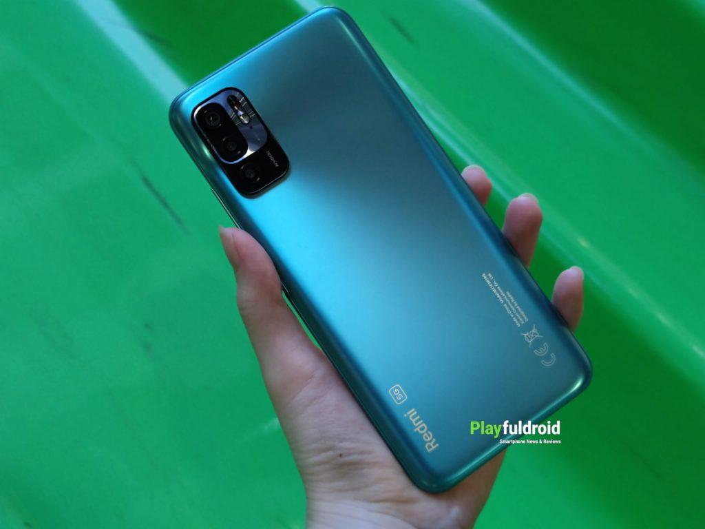 Redmi Note 10 5G Design -1