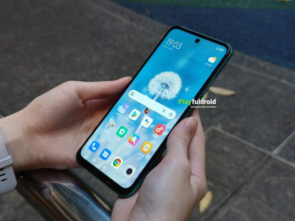 Redmi Note 10 5G Design -8