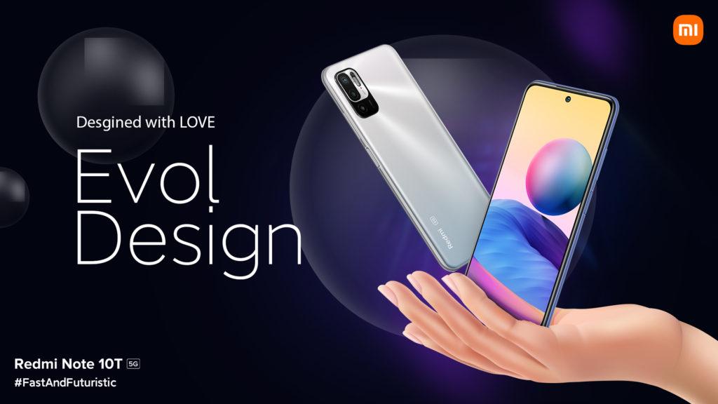 Redmi Note 10T 5G Design