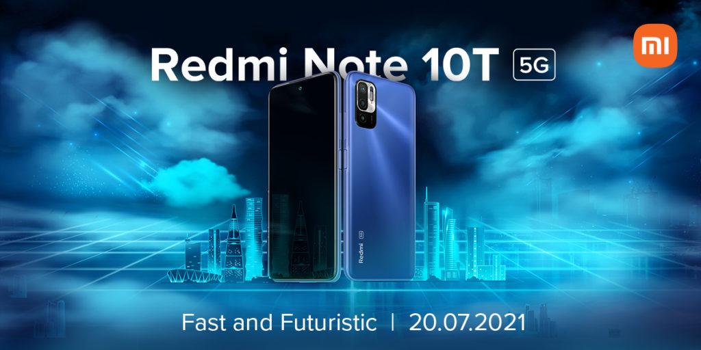 Redmi Note 10T 5G Launch Date