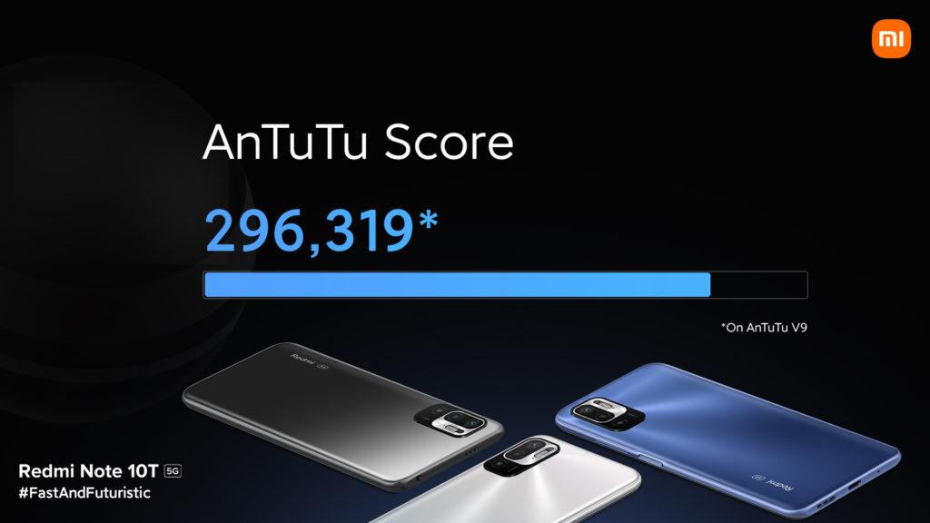 Redmi Note 10T 5G Performance