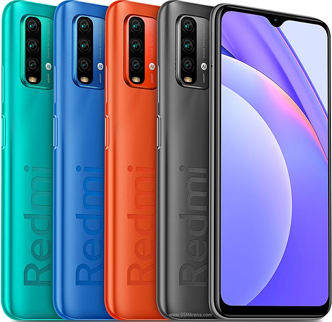Redmi Note 9 4G Colors