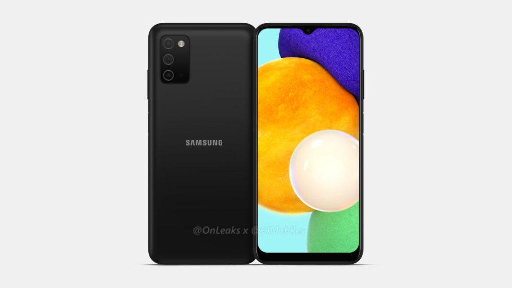 Samsung Galaxy A03s Render -1